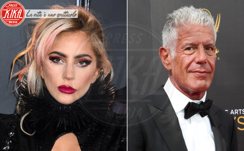 Anthony Bourdain, Lady Gaga - Los Angeles - 13-06-2018 - Anthony Bourdain: Lady Gaga si apre sulla malattia mentale
