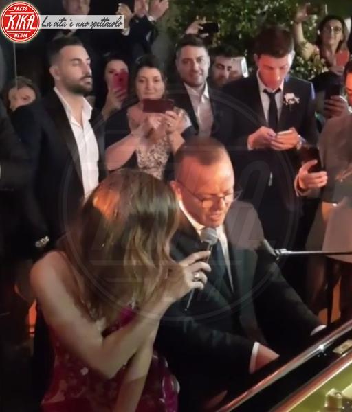 Gigi D'Alessio, Anna Tatangelo - Roma - 13-06-2018 - Tatangelo-D'Alessio di nuovo insieme. Le prove