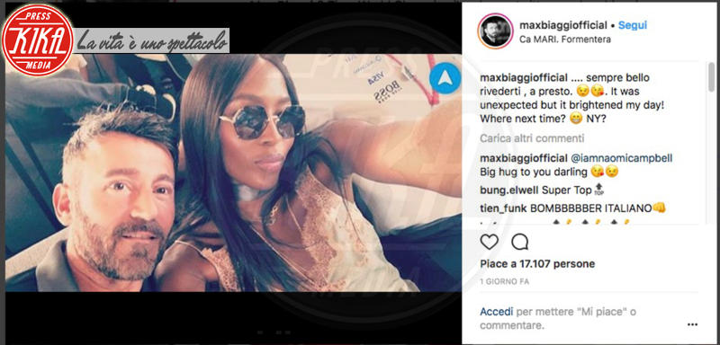 Max Biaggi, Naomi Campbell - 13-06-2018 - Naomi mangiauomini: ecco perché ha rotto col toyboy Liam Payne