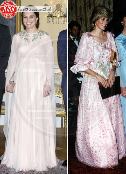 Kate Middleton, Lady Diana - Londra - 13-06-2018 - Kate Middleton e Lady Diana: la trasparenza è la stessa