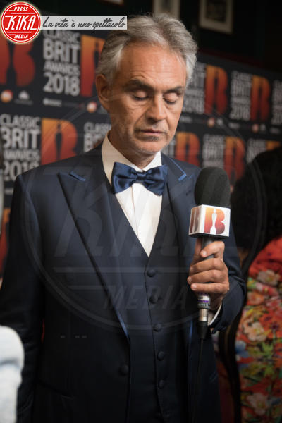 Andrea Bocelli - Londra - 13-06-2018 - Classic Brit Awards, Sarah di York premia Andrea Bocelli