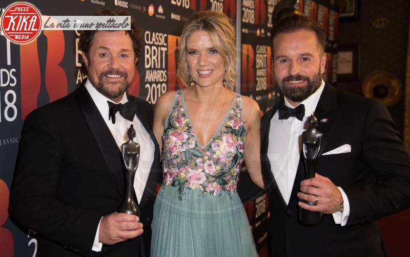 Alfie Boe, Charlotte Hawkins, Michael Ball - Londra - 13-06-2018 - Classic Brit Awards, Sarah di York premia Andrea Bocelli