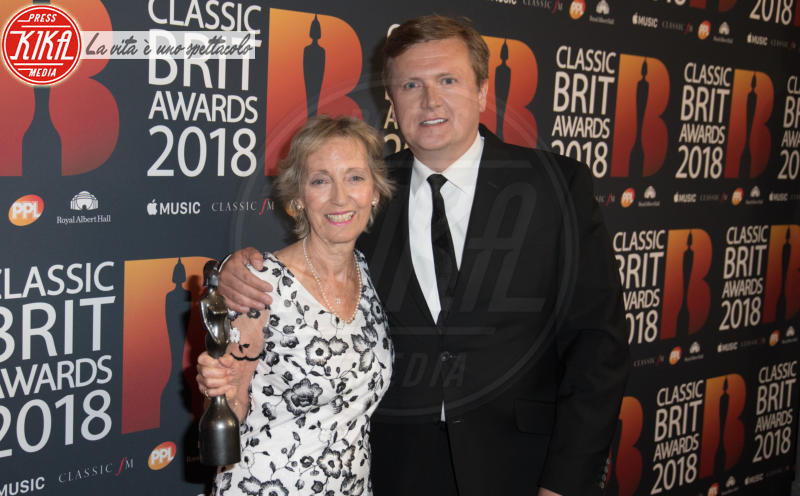 Virginia Lynn, Aled Jones - Londra - 13-06-2018 - Classic Brit Awards, Sarah di York premia Andrea Bocelli