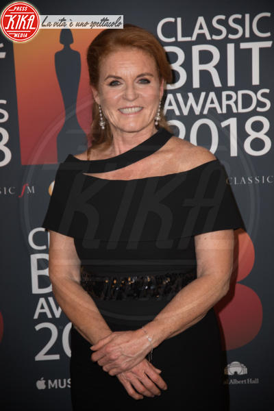Sarah Ferguson - Londra - 13-06-2018 - Classic Brit Awards, Sarah di York premia Andrea Bocelli