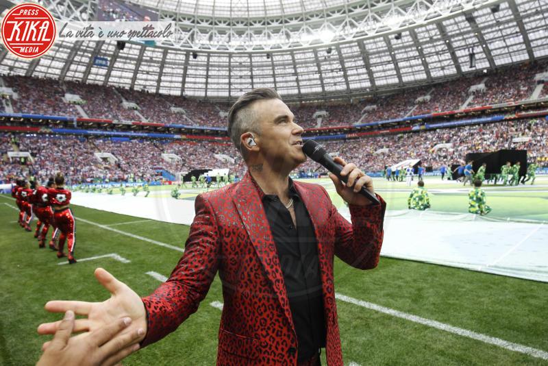 Robbie Williams - Mosca - 14-06-2018 - Russia 2018: inaugurazione nel segno di Robbie Williams