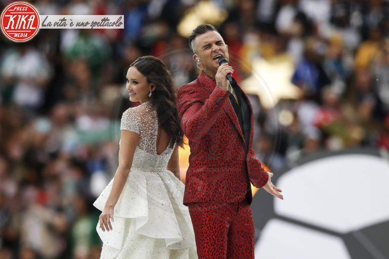 Aida Garifullina, Robbie Williams - Mosca - 14-06-2018 - Russia 2018: inaugurazione nel segno di Robbie Williams