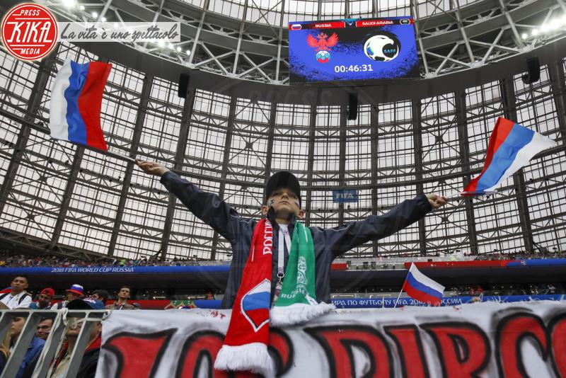tifosi Russia - Mosca - 14-06-2018 - Russia 2018: inaugurazione nel segno di Robbie Williams