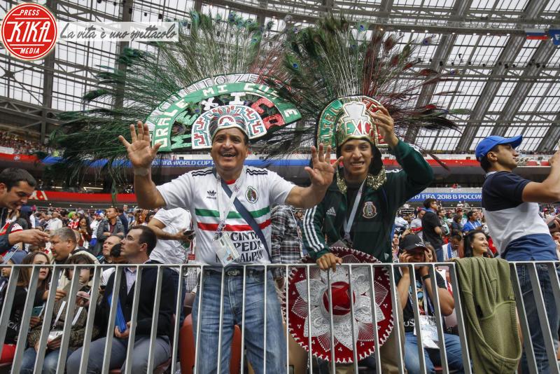 tifosi Messico - Mosca - 14-06-2018 - Russia 2018: inaugurazione nel segno di Robbie Williams