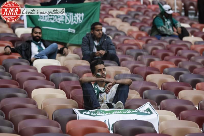 tifosi Arabia Saudita - Mosca - 14-06-2018 - Russia 2018: inaugurazione nel segno di Robbie Williams
