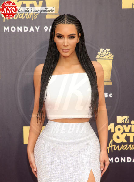 Kim Kardashian - Santa Monica - 17-06-2018 - Mtv Movie & Tv Awards: irriconoscibile Hannah Baker