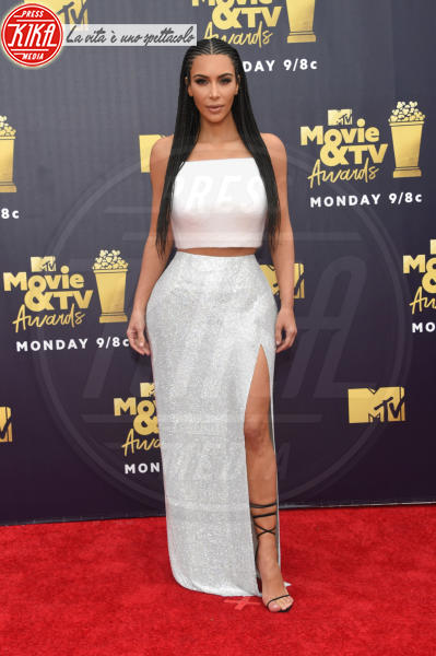 Kim Kardashian - Santa Monica - 16-06-2018 - Mtv Movie & Tv Awards: irriconoscibile Hannah Baker