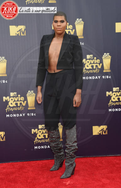 Ej Johnson - Santa Monica - 16-06-2018 - Mtv Movie & Tv Awards: irriconoscibile Hannah Baker