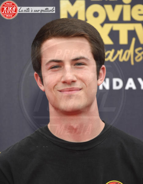 Dylan Minnette - Santa Monica - 16-06-2018 - Mtv Movie & Tv Awards: irriconoscibile Hannah Baker