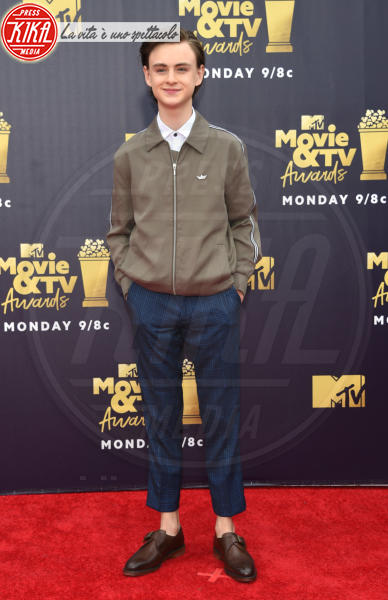 Jaeden Lieberher - Santa Monica - 16-06-2018 - Mtv Movie & Tv Awards: irriconoscibile Hannah Baker