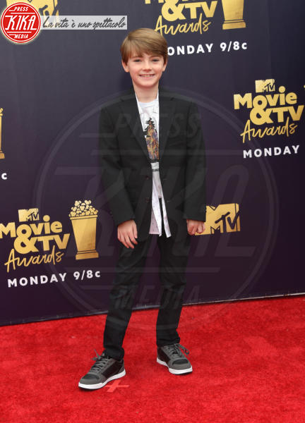 Jackson Robert Scott - Santa Monica - 16-06-2018 - Mtv Movie & Tv Awards: irriconoscibile Hannah Baker