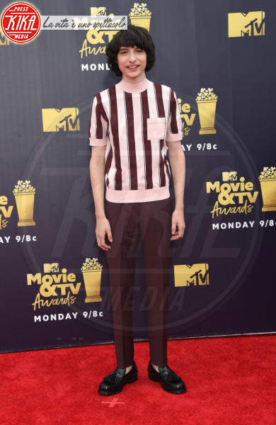 Finn Wolfhard - Santa Monica - 16-06-2018 - Mtv Movie & Tv Awards: irriconoscibile Hannah Baker