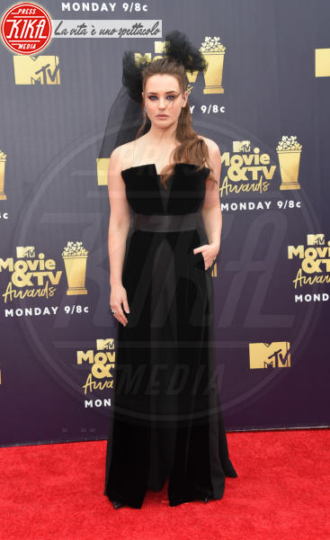 Katherine Langford - Santa Monica - 16-06-2018 - Mtv Movie & Tv Awards: irriconoscibile Hannah Baker