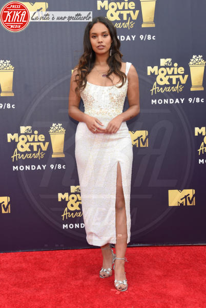 Alisha Boe - Santa Monica - 16-06-2018 - Mtv Movie & Tv Awards: irriconoscibile Hannah Baker