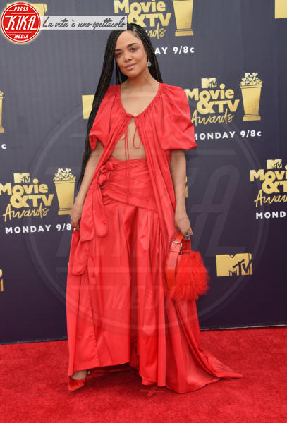 Tessa Thompson - Santa Monica - 16-06-2018 - Mtv Movie & Tv Awards: irriconoscibile Hannah Baker