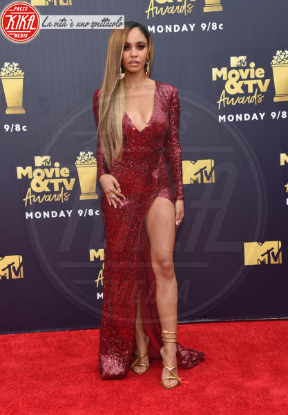 Vanessa Morgan - Santa Monica - 16-06-2018 - Mtv Movie & Tv Awards: irriconoscibile Hannah Baker