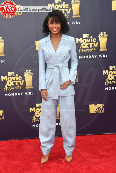 Yara Shahidi - Santa Monica - 16-06-2018 - Mtv Movie & Tv Awards: irriconoscibile Hannah Baker