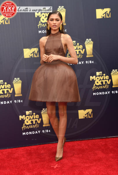 Zendaya Coleman - Santa Monica - 16-06-2018 - Mtv Movie & Tv Awards: irriconoscibile Hannah Baker