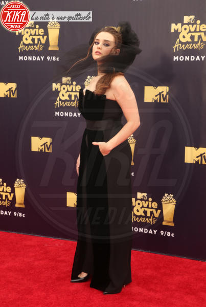 Katherine Langford - Santa Monica - 17-06-2018 - Mtv Movie & Tv Awards: irriconoscibile Hannah Baker
