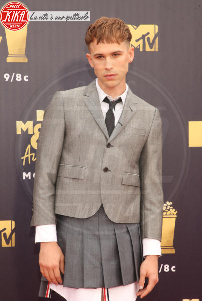Miles Heizer - Santa Monica - 17-06-2018 - Mtv Movie & Tv Awards: irriconoscibile Hannah Baker