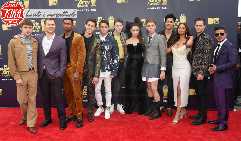Miles He, Steven Silver, Timothy Granaderos, Brandon Larracuente - Santa Monica - 16-06-2018 - Mtv Movie & Tv Awards: irriconoscibile Hannah Baker