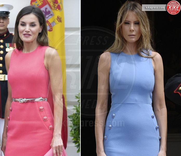 Melania Trump, Letizia Ortiz - 25-06-2018 - La regina Letizia e Melania Trump: chi lo indossa meglio?