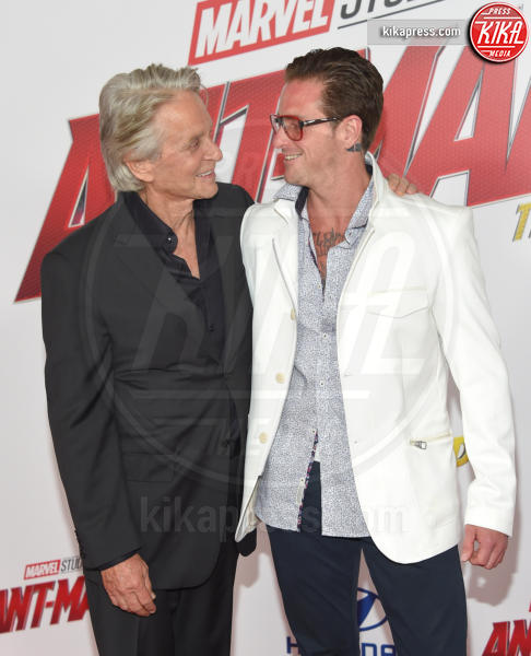 Cameron Douglas, Michael Douglas - Hollywood - 25-06-2018 - Evangeline Lilly, spacco da capogiro per Ant-Man and the Wasp