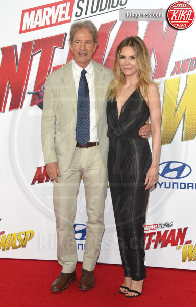 David E. Kelley, Michelle Pfeiffer - Hollywood - 25-06-2018 - Evangeline Lilly, spacco da capogiro per Ant-Man and the Wasp