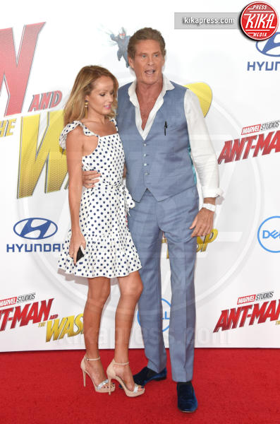 Hayley Roberts, David Hasselhoff - Hollywood - 25-06-2018 - Evangeline Lilly, spacco da capogiro per Ant-Man and the Wasp