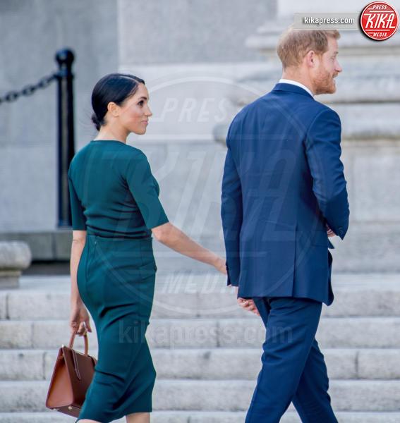 Meghan Markle, Principe Harry - Dublino - 10-07-2018 - Meghan Markle sceglie il verde per il suo debutto in Irlanda