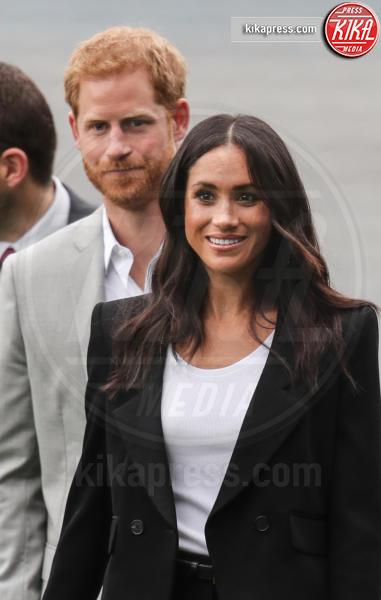 Meghan Markle, Principe Harry - Dublino - 11-07-2018 - Meghan Markle principessa casual: pantaloni e giacca corta