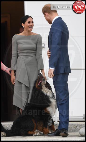 Meghan Markle, Principe Harry - Dublino - 11-07-2018 - Meghan Markle a Dublino: l'eleganza è grigio topo