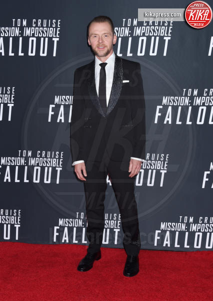 Simon Pegg - Washington - 22-07-2018 - Fallout, sesta Mission Impossible per Tom Cruise