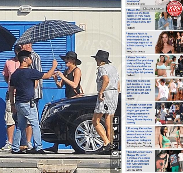 Jennifer Aniston - 25-07-2018 - Segreto di Pulcinella:Jennifer Aniston in Liguria per il film
