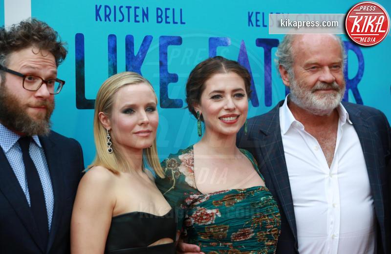 Lauren Miller Rogen, Seth Rogen, Kristen Bell, Kelsey Grammer - Los Angeles - 01-08-2018 - Kristen Bell: la pantera nera della première di Like Father