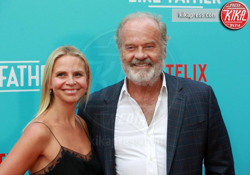 Kayte Walsh, Kelsey Grammer - Los Angeles - 01-08-2018 - Kristen Bell: la pantera nera della première di Like Father