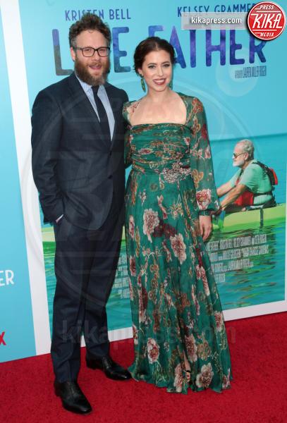 Lauren Miller Rogen, Seth Rogen - Los Angeles - 01-08-2018 - Kristen Bell: la pantera nera della première di Like Father
