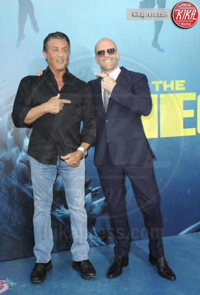 Sylvester Stallone, Jason Statham - Los Angeles - 07-08-2018 - The Meg, Statham e Huntington-Whiteley, se questa è una crisi...