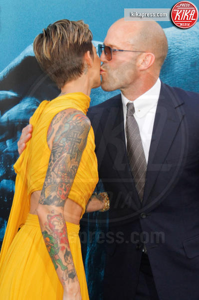 Ruby Rose, Jason Statham - Los Angeles - 07-08-2018 - The Meg, Statham e Huntington-Whiteley, se questa è una crisi...