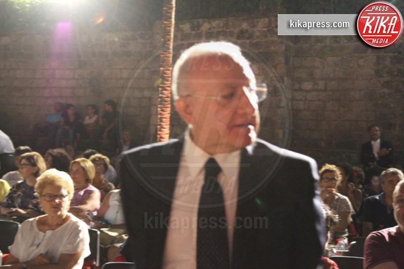Vincenzo De Luca - Caserta - 07-08-2018 - Un'estate da re con Jonas Kaufmann e Maria Agresta