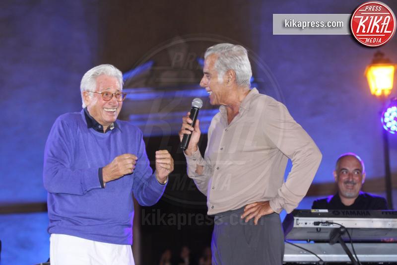 Giorgetto Giugiaro, Teo Teocoli - Cuneo - 07-08-2018 - Giorgetto Giugiaro festeggia 80 anni nella sua Garessio