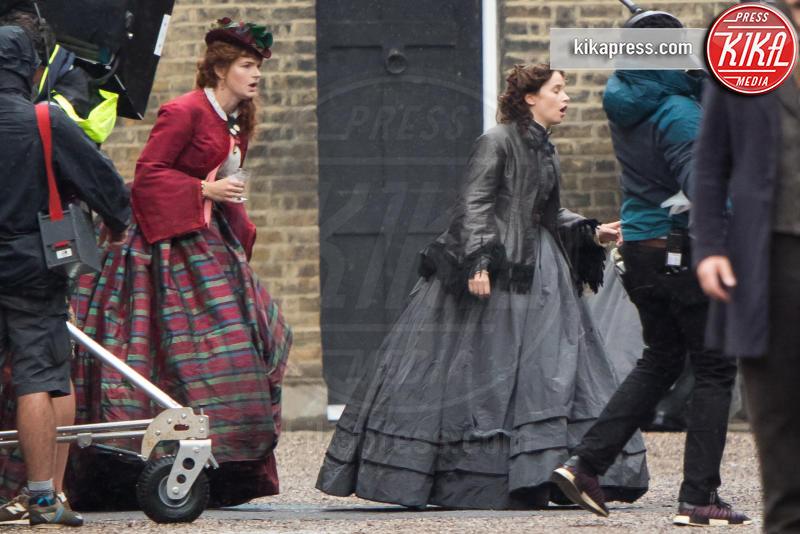 Felicity Jones - Londra - 09-08-2018 - Felicity Jones in versione ottocentesca per The Aeronauts