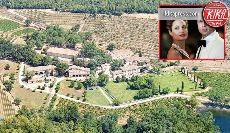 tenuta in Provenza Jolie-Pitt, Chateau Miraval - 27-07-2018 - Jolie-Pitt, l'unica tregua è quella per la casa in Provenza