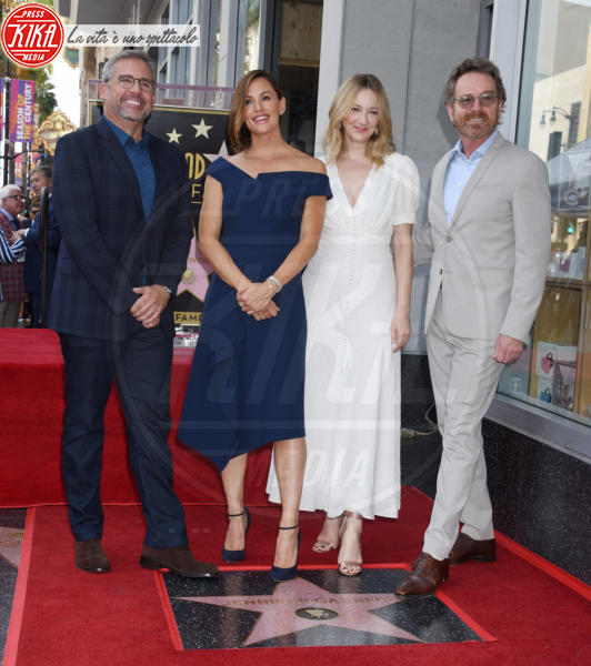 Steve Carell, Bryan Cranston, Judy Greer, Jennifer Garner - Hollywood - 20-08-2018 - Brilla la stella di Jennifer Garner sulla Walk of Fame