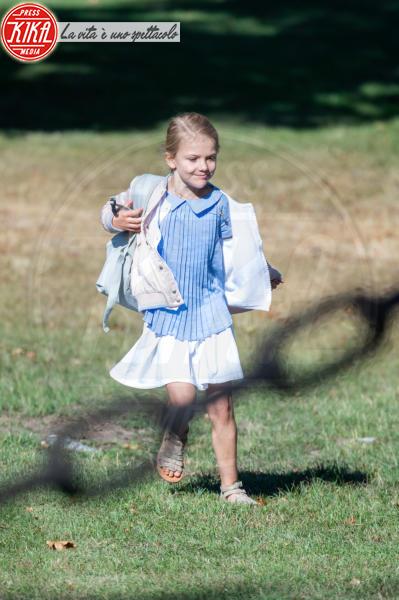 Principessa Estelle di Svezia - Stoccolma - 21-08-2018 - Star come noi: quando la school run è