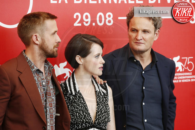 Claire Foy, Jason Clarke, Ryan Gosling - Venezia - 29-08-2018 - Venezia 75: Chazelle-Gosling, dove eravamo rimasti?
